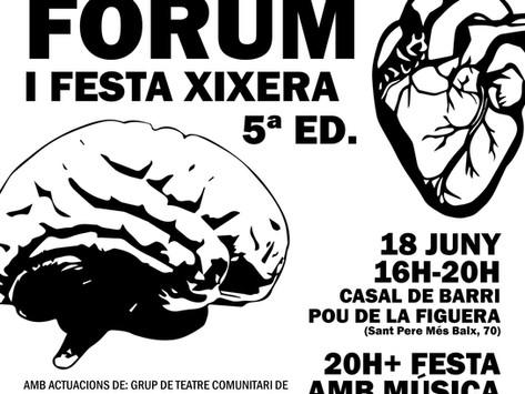 Marató de teatre fòrum (5º ed.) i festa xixera!