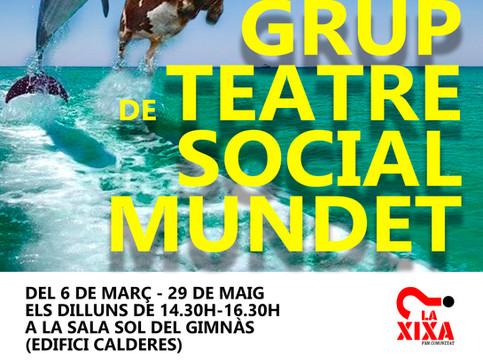 Obertes les inscripcions pel Grup de Teatre Social de Mundet