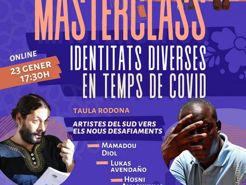 """Masterclass """"Identitats Diverses en Temps de Covid"""""""