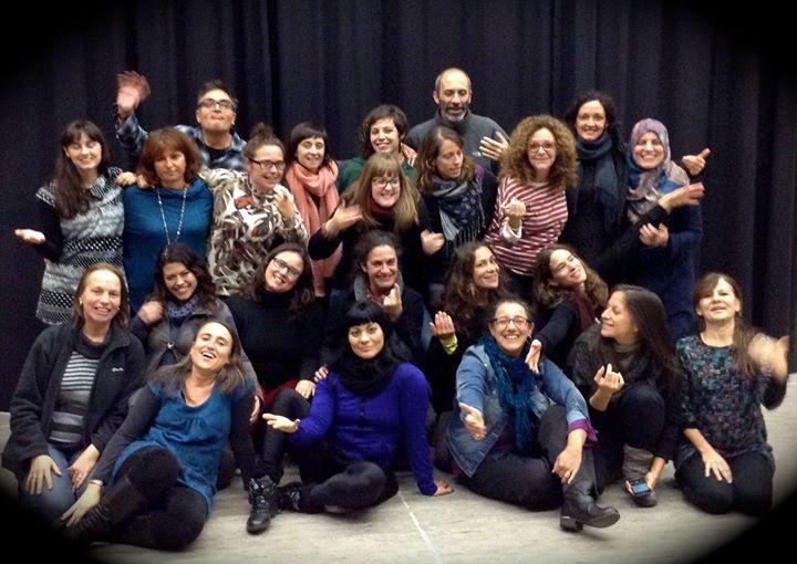 Final Curso de Dinamizadores de Teatro Foro apoyado por  BCN ACCIÓ INTERCULTURAL y organizado por La