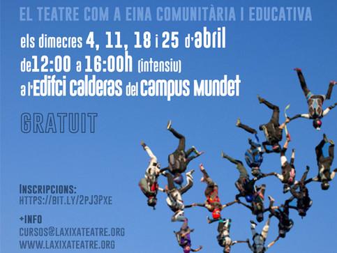 Obertes les inscripcions per a participar al Grup de Teatre Social del Campus Mundet Primavera 2018
