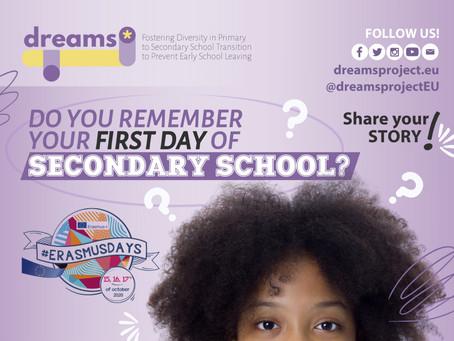 DREAMS Project participates in #ErasmusDays