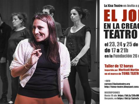 La Xixa Teatre participa en Toma Teatro 2018 (Madrid)