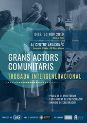 Grans Actors Comunitaris Trobada Intergeneracional