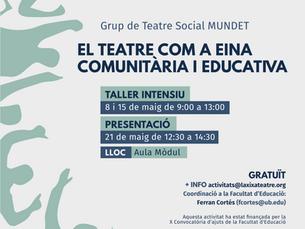 El teatre com a eina comunitària i educativa (Universitat de Barcelona)