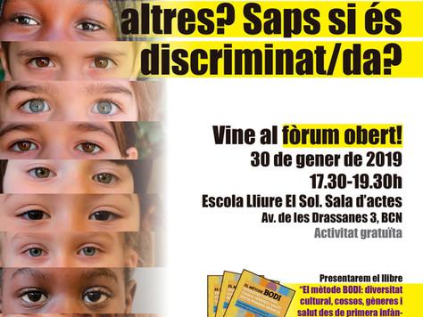 """Vídeo del Fòrum Obert """"Discriminació i Infància"""""""