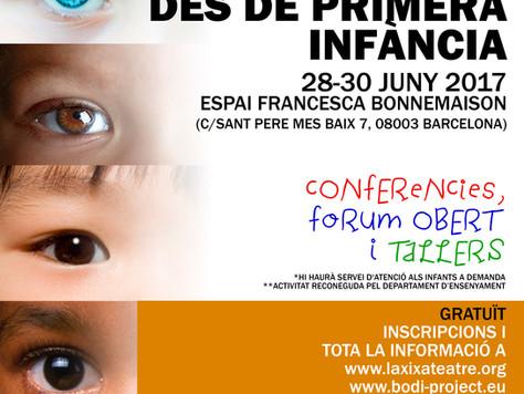 """CONFERÈNCIA INTERNACIONAL """"ELS COSSOS I LA NO-DISCRIMINACIÓ DES DE PRIMERA INFÀNCIA"""" 28-30"""