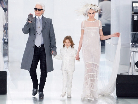 Karl Lagerfeld: Launching His First Children's Wear Collection