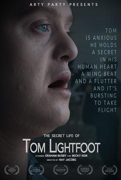 The Secret Life of Tom Lightfoot portrait poster - Shropshire Inclusive Dance.jpg