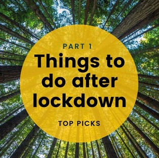Things to do after lockdown