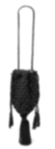 NANNACAY Marina tasseled crocheted shoulder bag