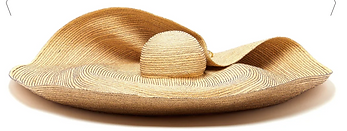 LOLA HATS  Giga Spinner oversized straw hat