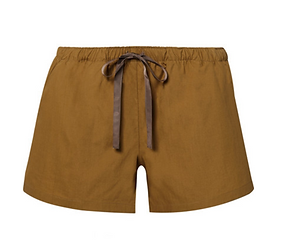 ON THE ISLAND BY MARIOS SCHWAB Senneh cotton-poplin shorts