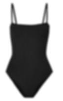 HUNZA G Maria seersucker swimsuit