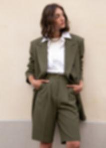 Frankie-Julie-Bermuda-Shorts-in-Olive-Gr