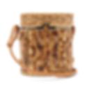 WAI WAI  Bongo bamboo and wicker basket bag
