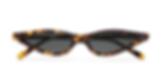 GEORGE KEBURIA Cat-eye tortoiseshell acetate sunglasses