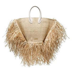 JACQUEMUS Le Baci straw basket bag