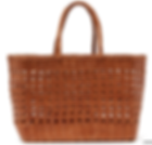 DRAGON DIFFUSION  Woven-leather basket bag