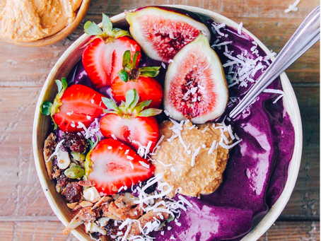 CHOCOLATE PEANUT BUTTER ACAI BOWL