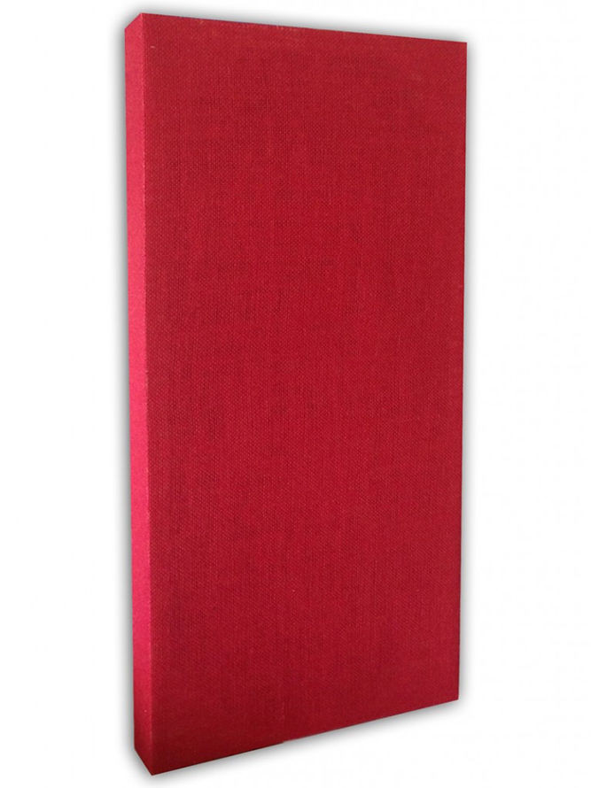 Red Acoustic Panel