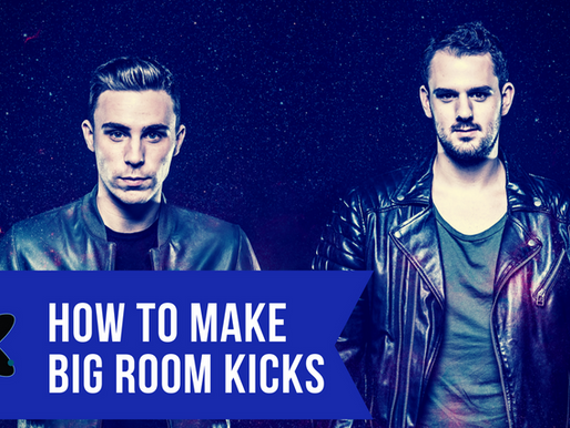 How To Make Big Room Kicks Like W&W/Blasterjaxx