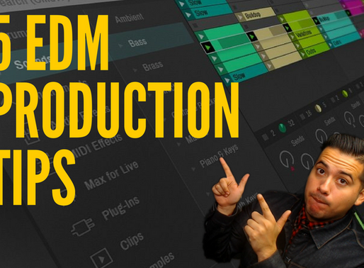 5 EDM Production Tips You Need To Know