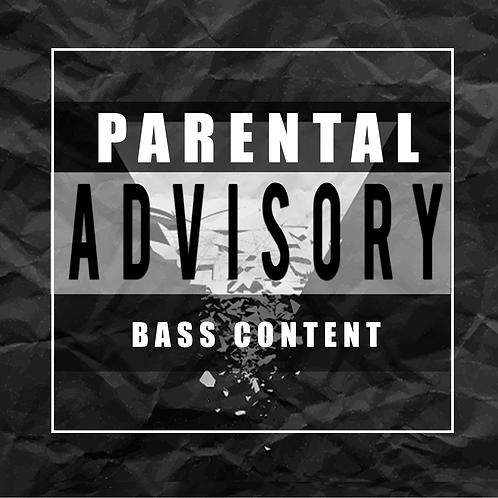 Parental Advisory G-House and Bass House Samples/Soundbank