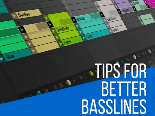 3 Tips For Better Bass lines For EDM