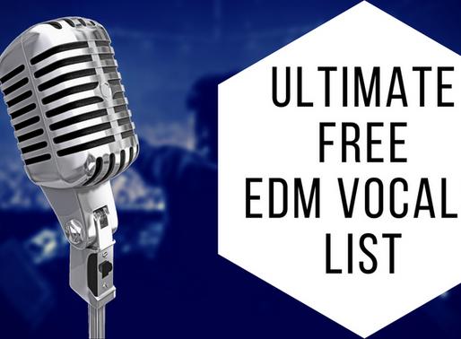 Ultimate Free EDM Vocal Samples List