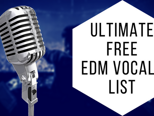 Ultimate Free EDM Vocal Samples List