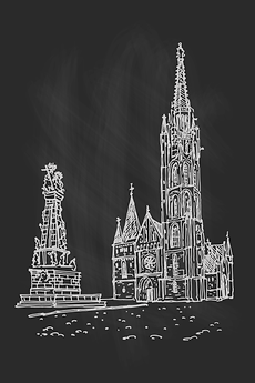 Black and white church.png
