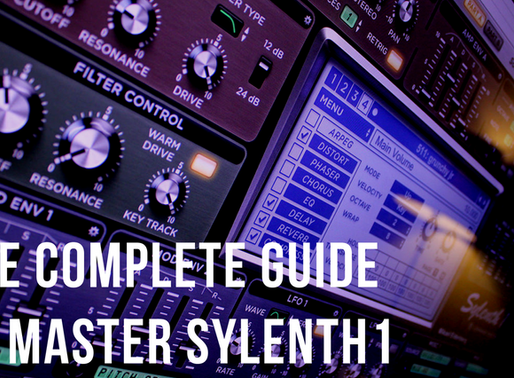 HOW TO USE SYLENTH1