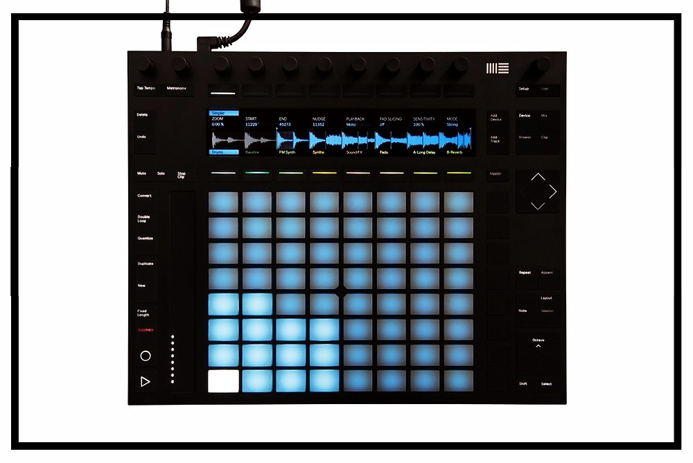 Ableton Push Controller Blue