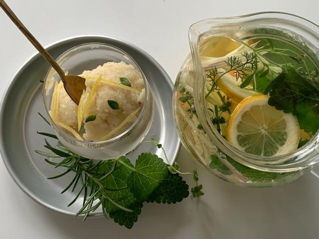 6月7日(日)初夏のフレッシュハーブティーと甘酒のレモンソルベ オンラインワークショップ
