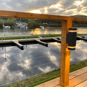 Deck light view