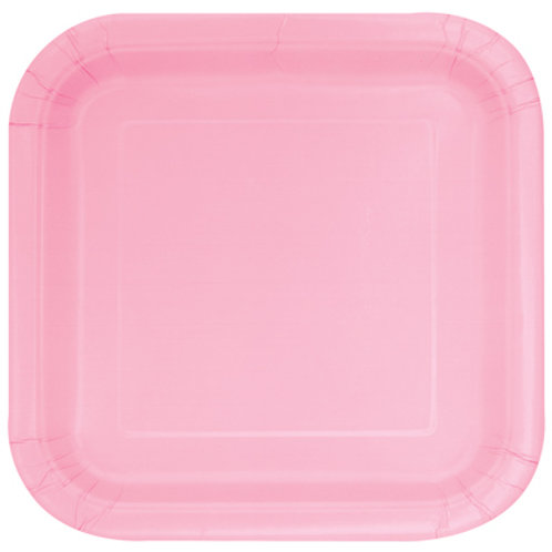 Plates Lovely Pink
