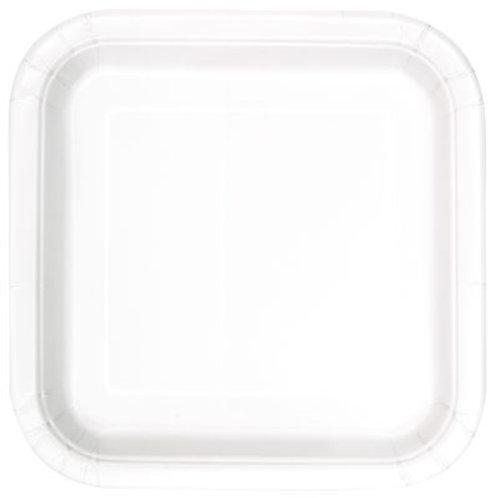 Plates Bright White