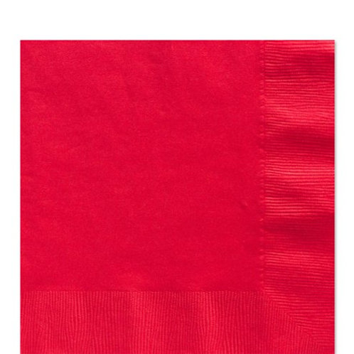 Napkins Ruby Red