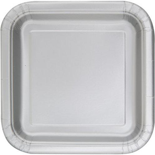 Plates Silver