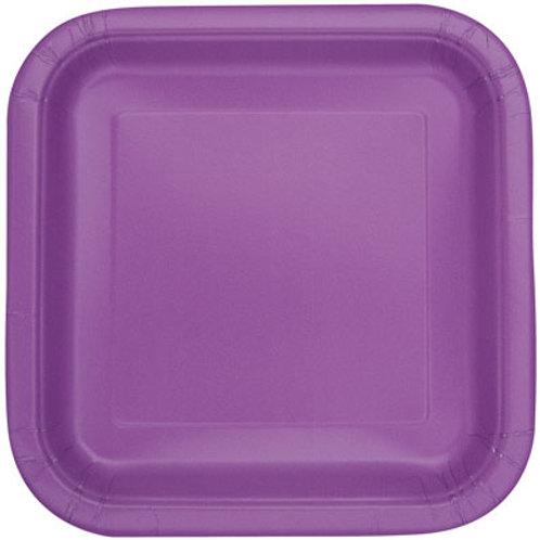 Plates Pretty Purple