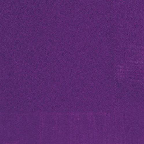 Napkins Deep Purple