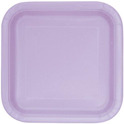 Plates Lavender