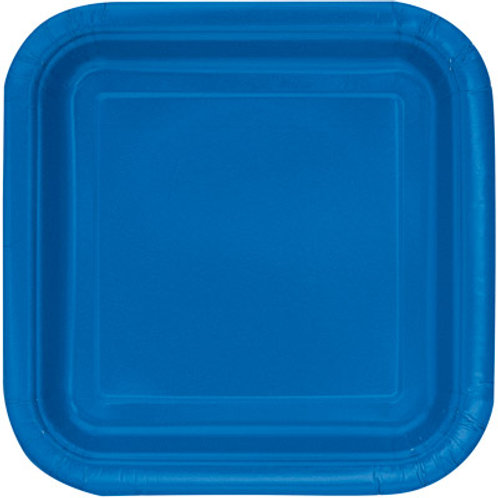 Plates Royal Blue