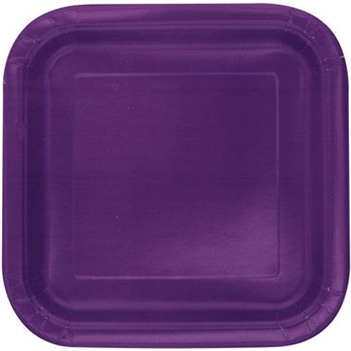 Plates Deep Purple