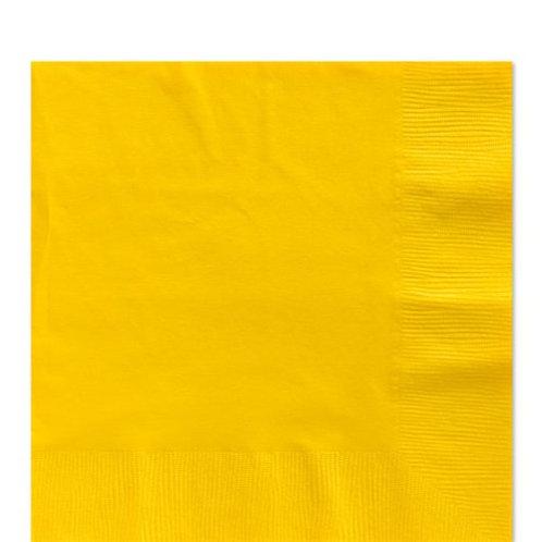 Napkins Sunflower Yellow