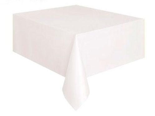 Tablecover Bright White