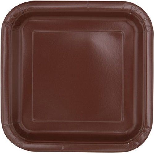 Plates Brown