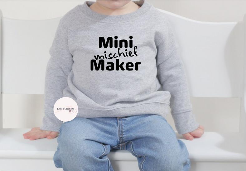 Mini Mischief Maker Sweater