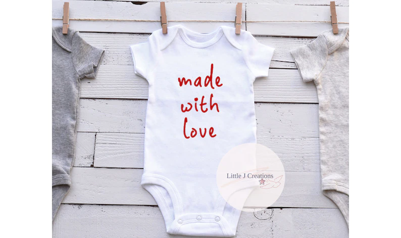 Made With Love Baby Vest